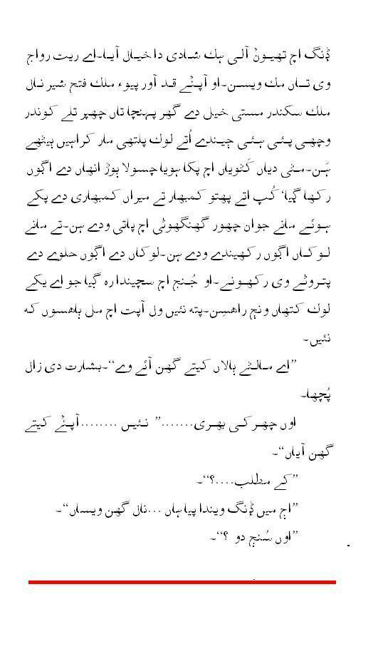 Dding (Hamid Siraj/ Translator Saeed Akhtar Zia) - Part 6
